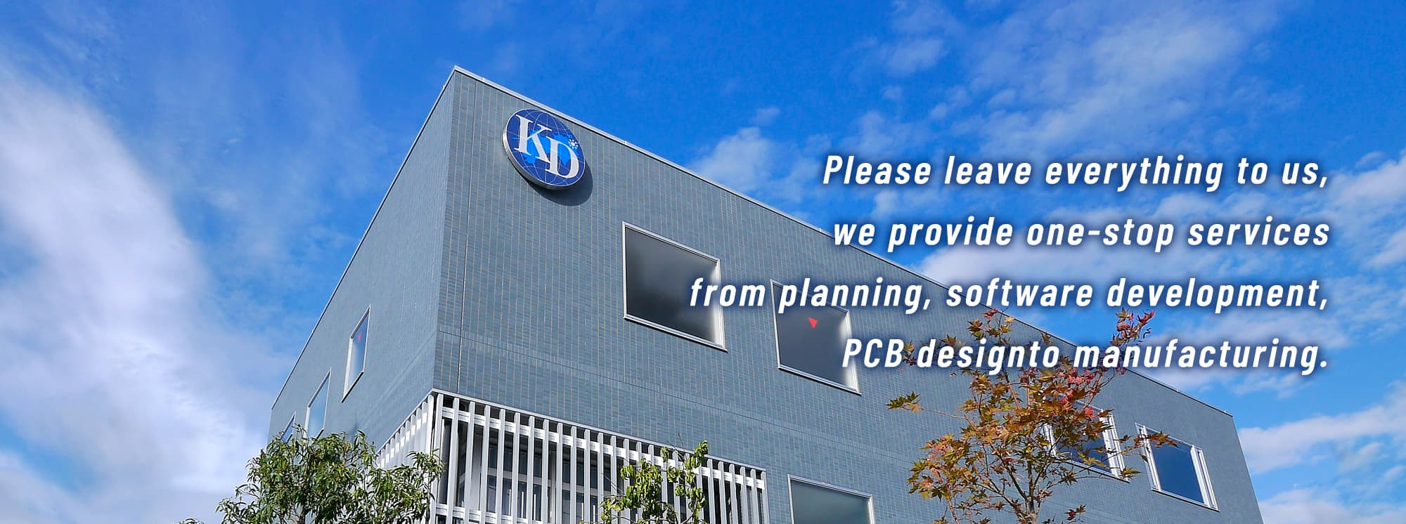 Please leave everything to us, we provide one-stop services from planning, software development, PCB design to manufacturing.